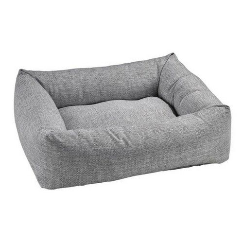 MicroLinen Dutchie Bolster Dog Bed — Allumina