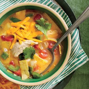 King Ranch Chicken Soup | MyRecipes.com This restaurant-style Tex-Mex dish is both rich and a cinch to prepare.