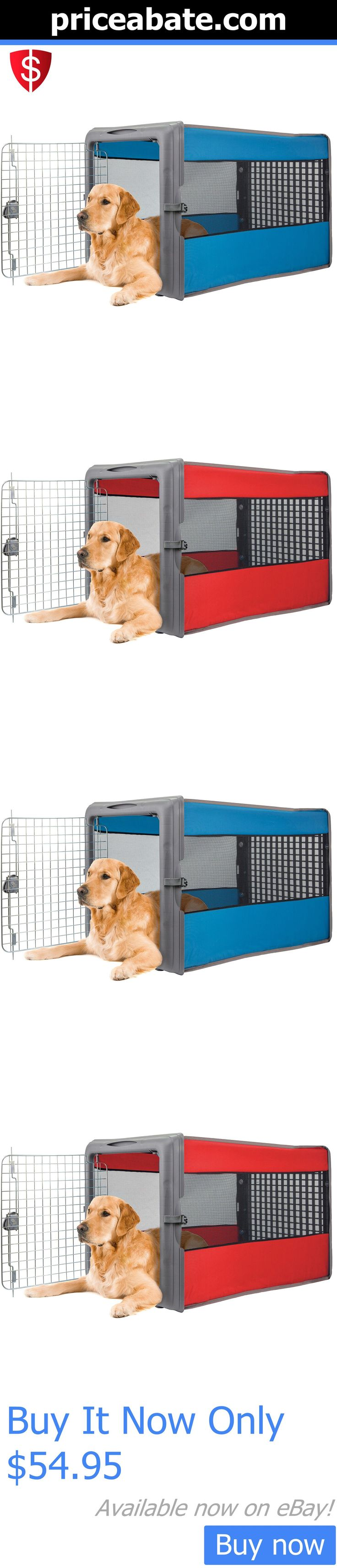 Animals Dog: Large Dog Crate Pet Cage Cat Soft Folding Pad House Bed Playpen Puppy Travel Pan BUY IT NOW ONLY: $54.95 #priceabateAnimalsDog OR #priceabate