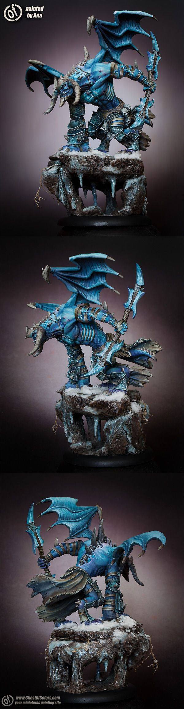CoolMiniOrNot - Epic Thagrosh - the Messiah of Everblight by Ana