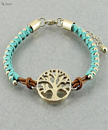 DIY Bracelet to try. Is it just me or is this the White Tree of Gondor, Id buy this - I highly doubt it'd look this good if I made it on my own....