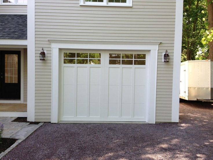 60 best steel carriage house garage doors images on pinterest haas american tradition model 922 steel carriage house style garage door in white with glazed 6 publicscrutiny Image collections