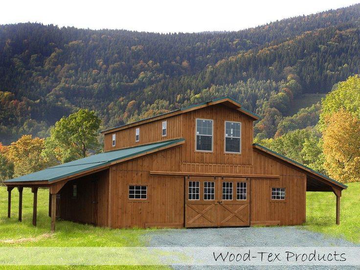 Pole barn homes beautiful homes interior design for Monitor pole barn