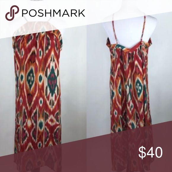 "Saturday Sunday Anthropologie Ikat Recoleta Dress Saturday Sunday Anthropologie Women's Size S Ikat Recoleta Silk Dress Excellent condition, no flaws. Underarm to underarm - 18"" Top to bottom (front) - 40"" Top to bottom (back) - 46.5"" Anthropologie Dresses High Low"