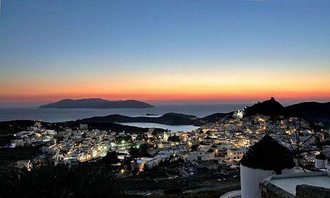 Ios Greek Ferry guide - DANAE Greek Travel Services Online