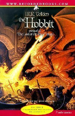 The Hobbit Audiobook  J. R. R. Tolkien 2001 7 Cassettes Unabridged