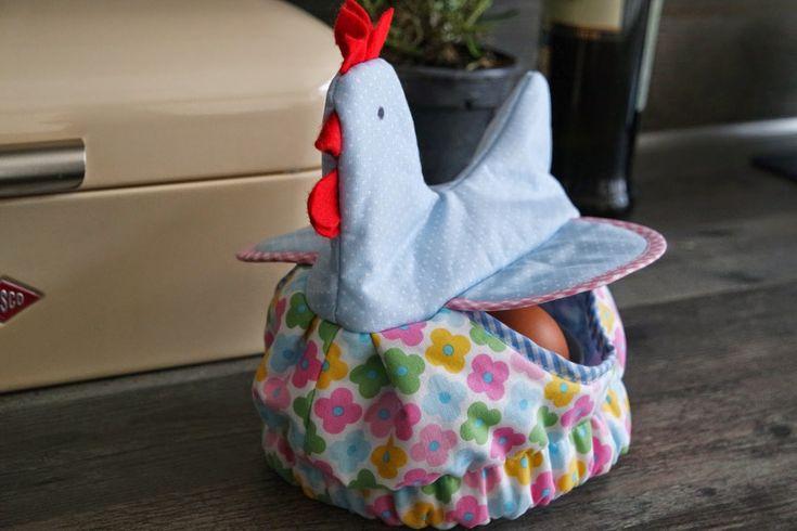 Huhn - Eierwärmer - Link zur Anleitung