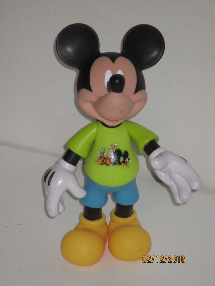 mickey mouse walt diney figurine vintage by reuseitbarn on Etsy
