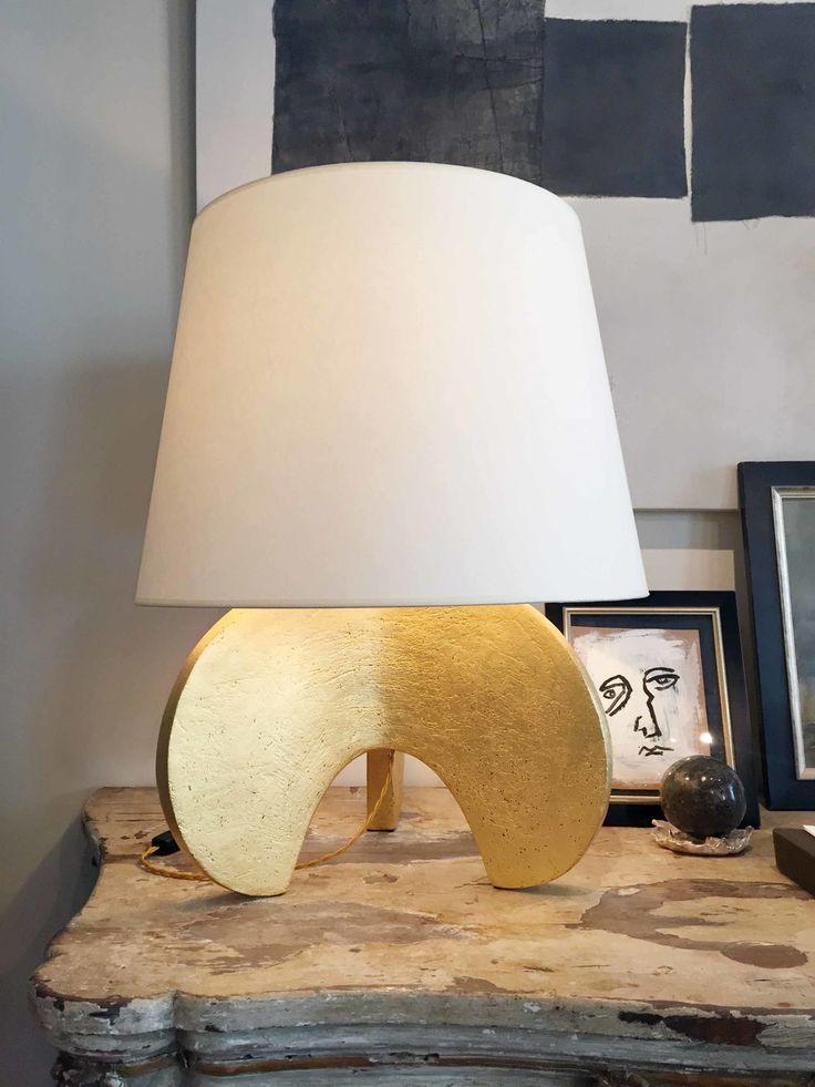 Gilded Ceramic Claw Lamp 306 best LIGHTING