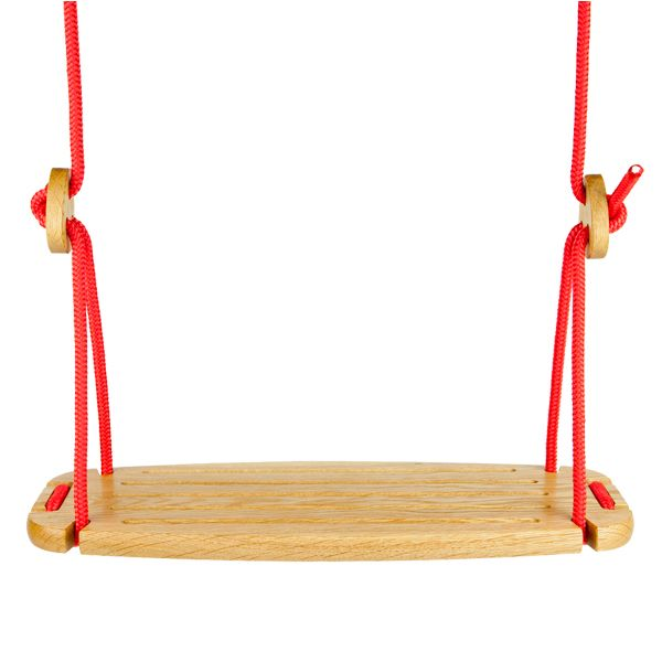 The wooden swing. Reinvented. By lillagunga www.lillagunga.com