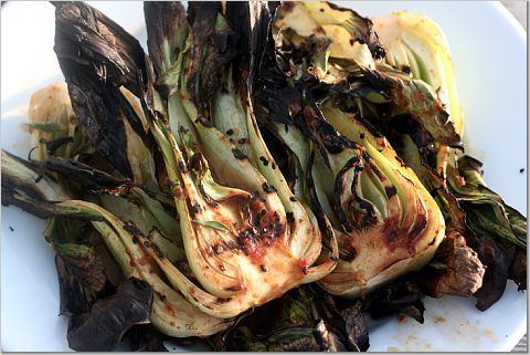 Grilled Bok Choy - Goodbye Kitchen, Hello Grill « The Kitchen Sink: Babies, Thekitchensinkrecip Com, Grilled Baby, Baby Bok, Bok Choy, Goodbye Kitchens, Eating, Favorite Recipes, Kitchens Sinks