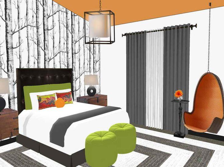 165 best home design images on Pinterest Home design - bedroom design tool