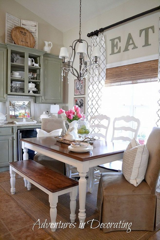 Country Dining Room Decor Ideas 151 best dining room images on pinterest | live, kitchen and room