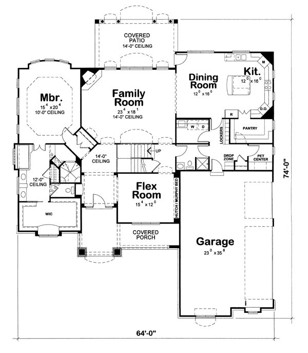 70 best House plans images on Pinterest | Dream house plans, House ...