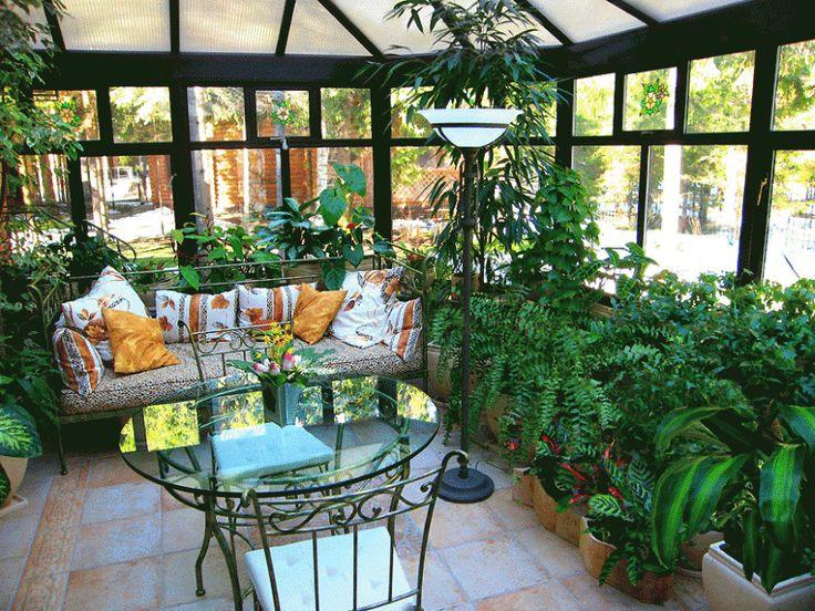 Зимние сады. 50 разнообразных вариантов - Сундук идей для вашего дома - интерьеры, дома, дизайнерские вещи для дома