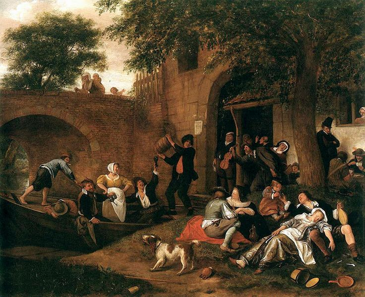 Steen, Leaving the Tavern