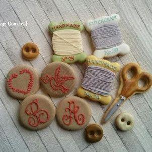 Embroidery!  J.Icing Cookies! (ビバ!アイシングクッキー) ♪兵庫県三木市・小野市♪