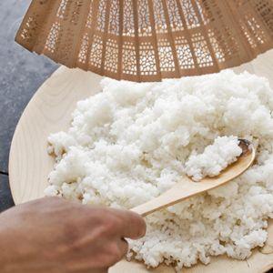 Recept - Sushirijst (sushi meshi) - Allerhande