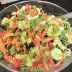 In this family we love having parties to celebrate any occasion. One dish that is always a hit no matter what is this pasta salad. It's easy to make, and everyone loves it! This simple pasta salad will be a hit no matter the event,  a family BBQ, the upcoming potluck at work, even the …