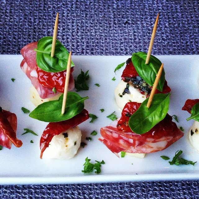 22 best images about cute canapes on pinterest wedding for Hot canape ideas