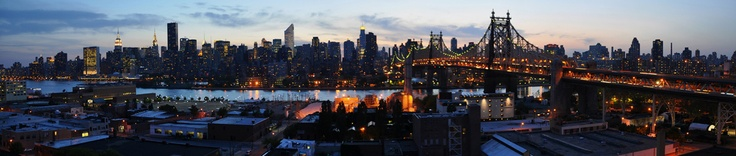 Rooftop view from the Z Hotel NYC in Long Island City.