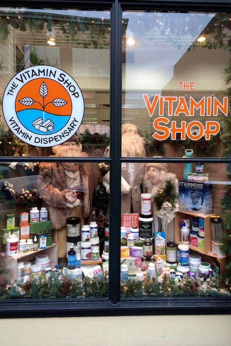 The Vitamin Shop Christmas 2015 canadianvitaminshop.com  PropaganZa Visual Display & Design
