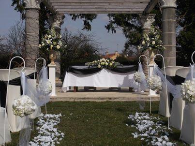 Décoration Cérémonie de mariage Château St Julien