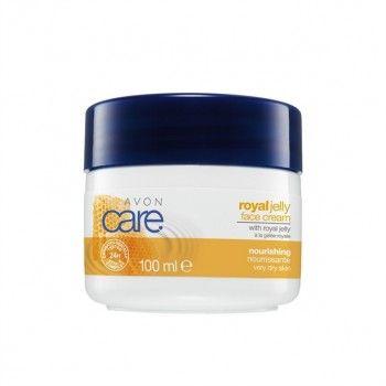 Avon Care Serisi : Avon Care Arı Sütü İçeren Yüz Kremi - 100 ml