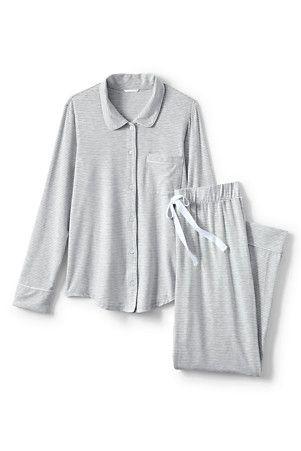 Women's Striped Pyjama Set