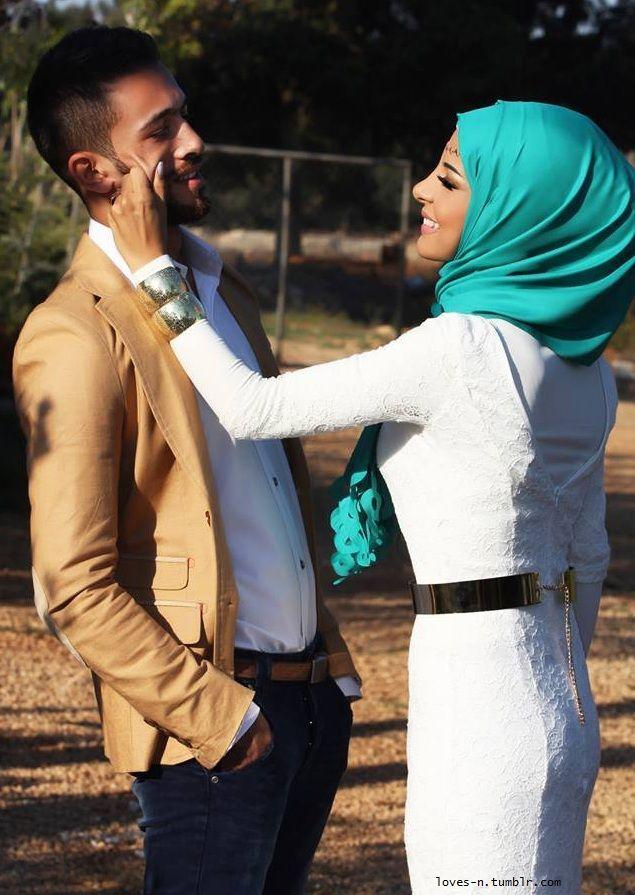 Husband and wife kissing in islam-8295