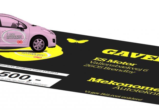 STØT BRYSTERNE MED DIN MOBILTELEFON  SMS SB 2426 til 1277. Så støtter du Kræftens Bekæmpelse med 50 kr. (+alm. trafiktakst) Mekonomen Autoteknik - ES Motor | Kræftens Bekæmpelse -   Hjælp os med at hjælpe på http://www.es-motor.dk/stoet-brysterne.html