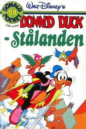 """""""Stålanden - Donald Pocket #28"""" av Giovan Battista Carpi"""