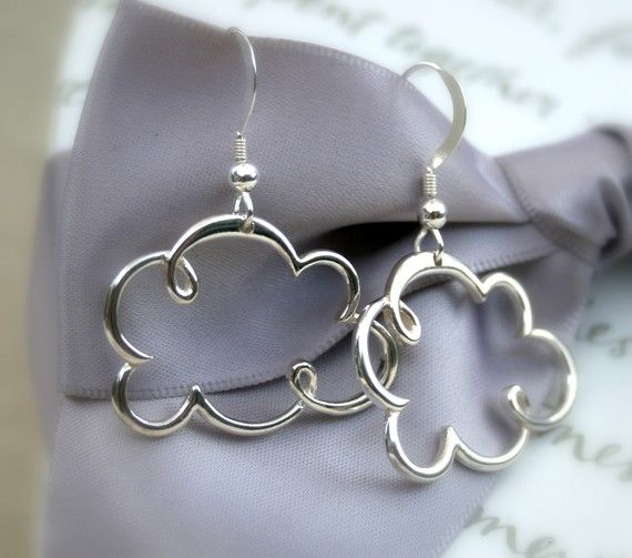 Clouds earrings