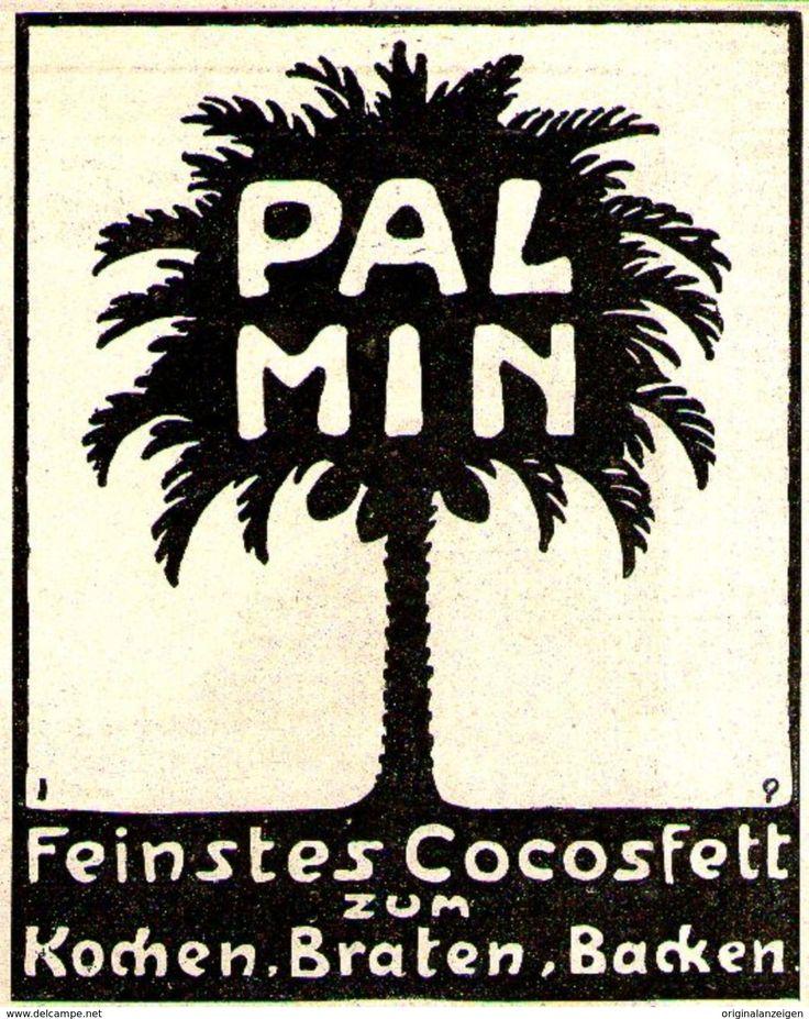 Original-Werbung / Anzeige 1907 - PALMIN COCOSFETT - Ca. 90 X 110 Mm - Werbung