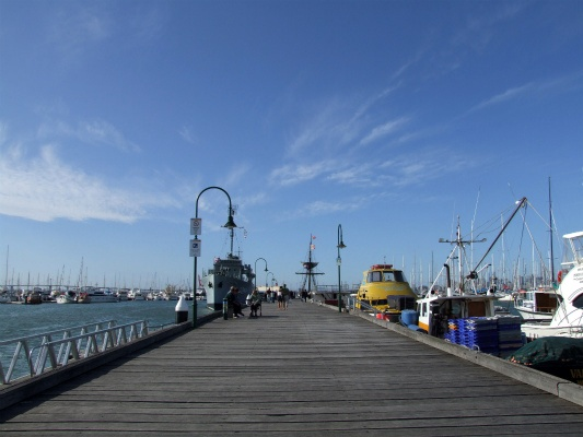 ウィリアムズタウン桟橋 / Williamstown pier in Australia