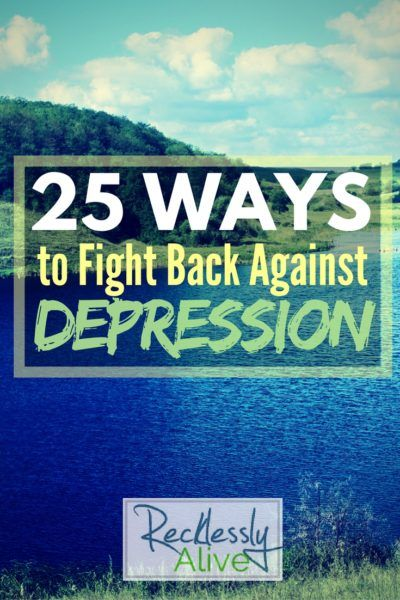 I'm doing my best to shine a light on this pesky beast known as depression. Today I'm letting you in on the many ways I've learned to fight back and live through the hardest moments. | RecklesslyAlive.com #depression #suicide #hope #mentalhealth #mentalillness