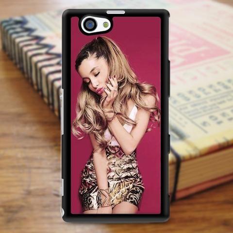 Ariana Grande Cute Kiss Sony Experia Z3 Case