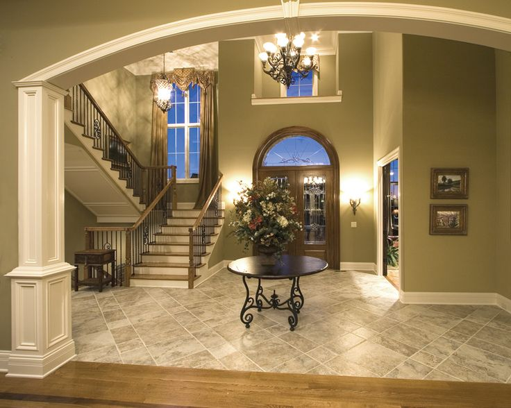 31 best images about luxury foyer on pinterest entry for House plans with foyer entrance