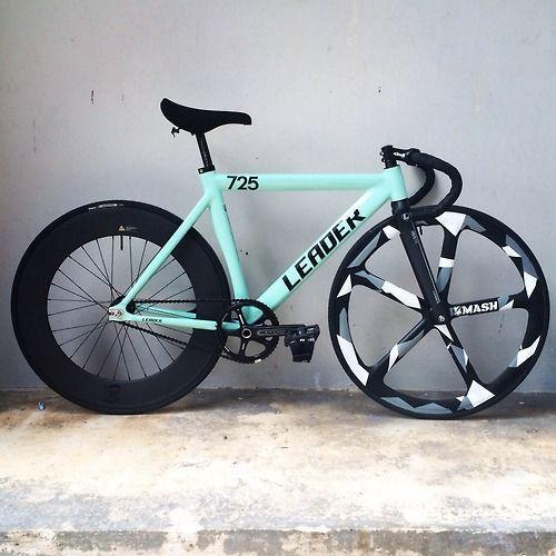 Leader 725 Deep V Rim Aerospoke Rim Fixed Gear Bikes