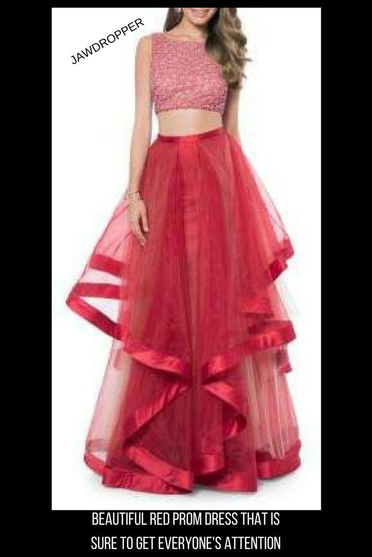 4dff88b3a079 Glamour by Terani Couture Two- Piece Embellished Prom Dress Set. #promoted# prom