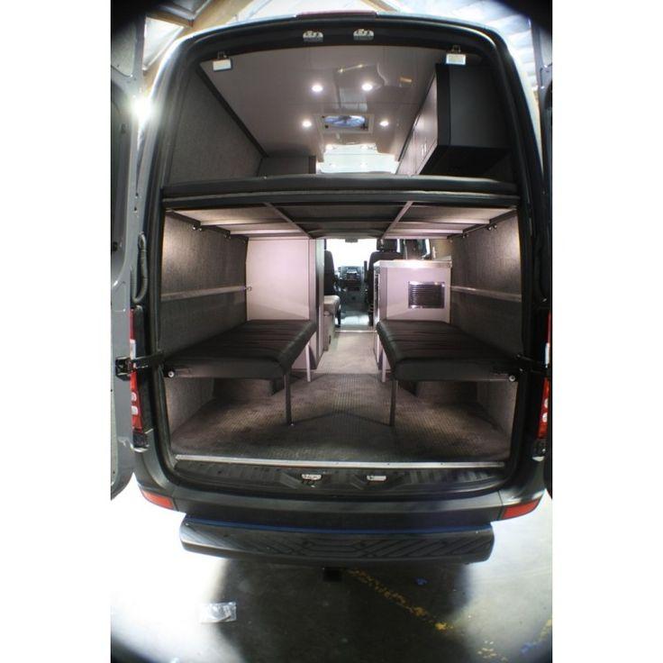 Sprinter Camper Mercedes Bus Van Conversion Conversions Ideas Campervan