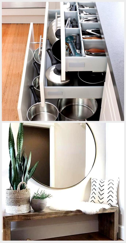 Wie Man Ordnung In Der Kuche Macht 5 Ikea Losungen Dekoration Ideen In 2020 Kitchen Home Flatware Tray