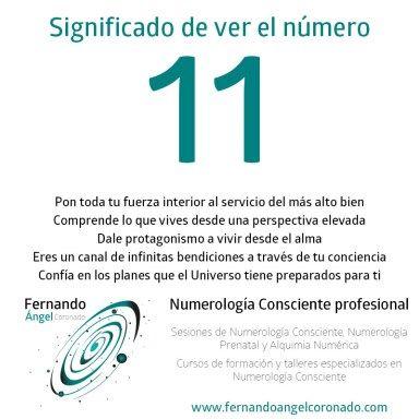 significado de ver el numero 11