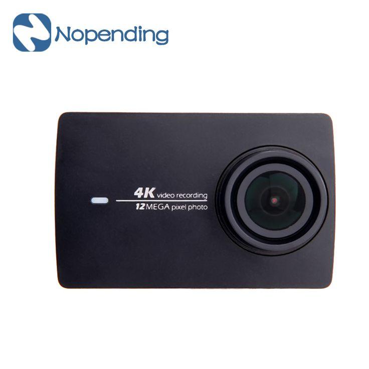 Купить товарВ НАЛИЧИИ!!! новое Прибытие Xiaomi YI 4 К Действие Спорт Камеры 2 II 2.19 ''Retina Экран Ambarella A9SE75 12MP…