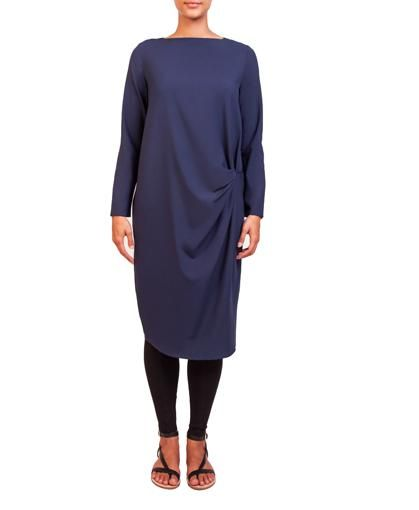 Navy Blue Knot Midi | INAYAH www.inayahcollection.com