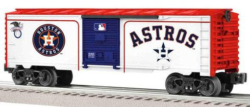 Lionel 6-81935 Houston Astros Major League Baseball Boxcar O Gauge