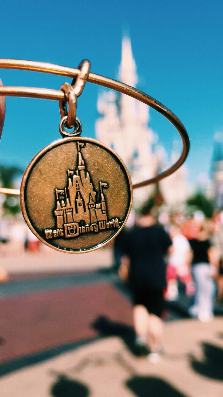 Cinderella Castle Bangle by Alex and Ani