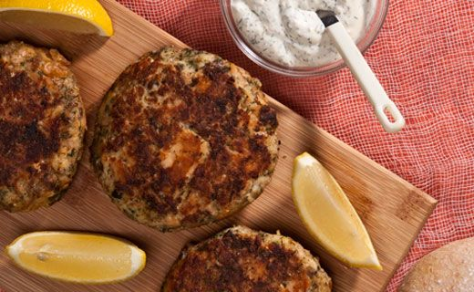 Epicure's Salmon Patties