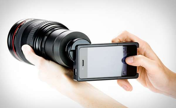 Intrinsic Camera Phone Attachments - Gizmon Clip-On Lenses Provide Easy-to-Use Polarizing Filters (GALLERY)