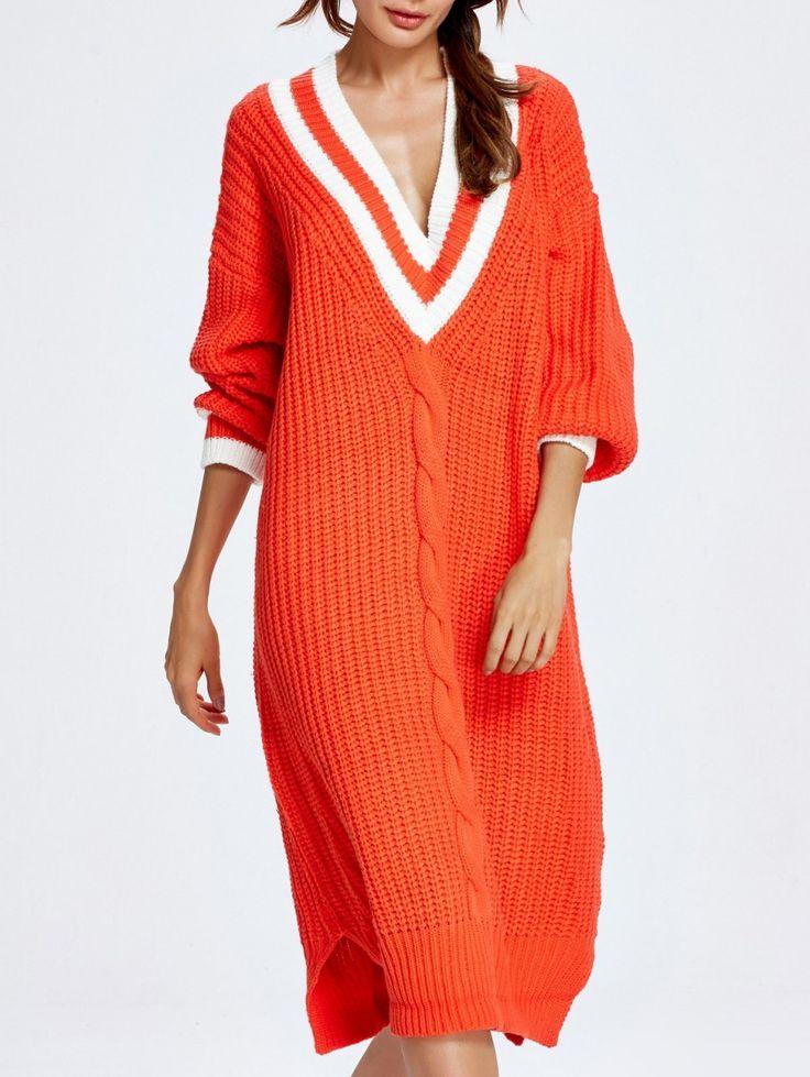 Платье-свитер 2018 год: изящные образы